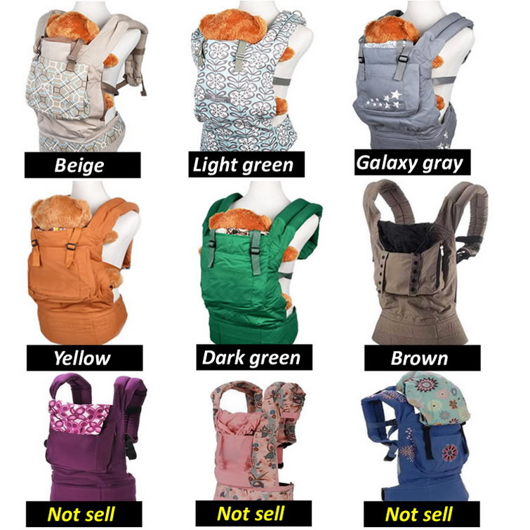 Classic Popular Baby Carrier Backpack Ergonomic Baby Carrier Infant Baby Carrier Wraps Sling Baby Suspenders BD01