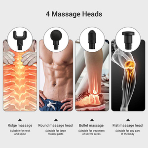 Image 5 - Personal Percussion Massage Gun Handheld Deep tissue Muscle Massager Helps Relieve Muscle Soreness and Stiffness