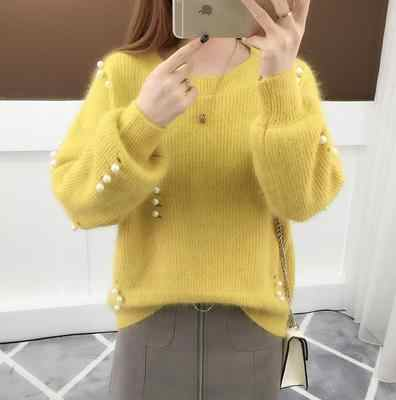 저렴한 도매 2019 새로운 가을 겨울 뜨거운 판매 여성 패션 캐주얼 따뜻한 좋은 스웨터 BP291