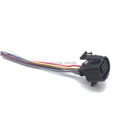 8 pinów korpus przepustnicy pozycja złącze czujnika pigtail wtyczka dla Audi Volkswagen VW A4 OE #3A0973714/3A0973734 w Przepływomierze powietrza od Samochody i motocykle na