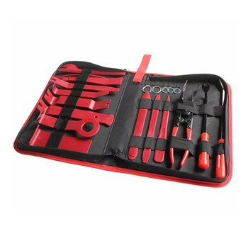19PCS Car Audio Disassembly Tool With Self-sealing Bag Car Interior Door Clip Panel Trim Open Removal Tools