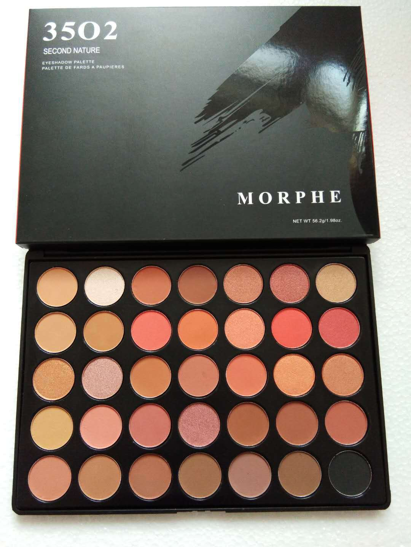 New Hot Morphe35 Make Up Palette Mask Profesional Eyeshadow Palettes Shimmer Eyeshadow Pallete Morphe35o2 Imagic Makeup