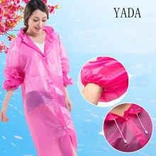 Fashion Women Man Transparent Raincoat Suit Outdoor Hiking Travel Waterproof Hooded Rain Coat Poncho Clear Rainwear