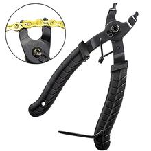 Bicycle Chain Wrenches Removal Tool Quick Release Clamp Cut Chain Link Pliers Tongs Removable Dual Bike Cycling Repair Tool 10 inch chain pliers adjustable professional welding fixed tool chain locking plier chain wrench quick clamp pliers