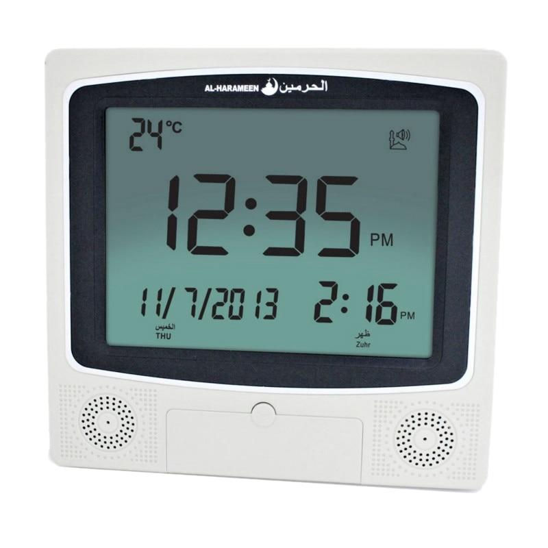New Muslim J Clock Arabian Desktop Alarm Clock 4009 Azan Clock Desk Clcok (With English and Arabic Instructions)|Alarm Clocks| |  - title=