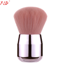 FLD Mushroom Style Makeup Brush Foundation Blush Face Brush Kabuki Highlight Concealer Tools Kit недорого