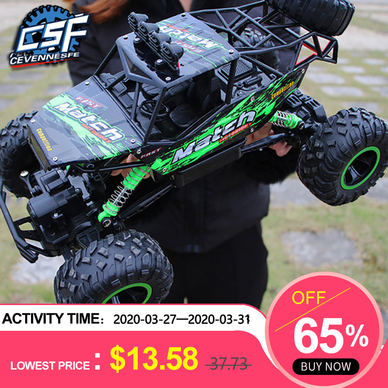 2020 NEW High Speed Trucks 1:12 4WD 2.4G Radio Control RC Car Remote Control Car Off-Road Trucks Boys Toys For Children RC Car