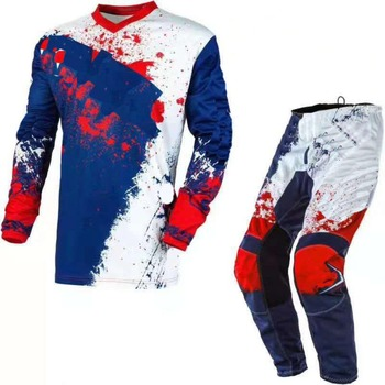 Free Shipping 2020 One MX ATV Element Motorcycle Jersey Pants Gear Set Motocross Combination Driving Riding Motorbike Racing