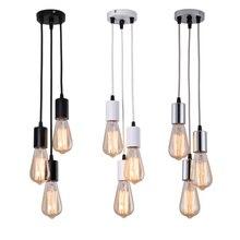 LED E27 Pendant Lights Bedroom Living Room Hanging Light 90-220V Restaurant Cafe Decoration Hanglamp Kitchen fixtures Lighting
