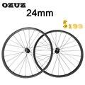 OZUZ карбоновый диск колеса D791SB/D792SB ступица 23 мм ширина карбоновые колеса карбоновые диски шоссейные колеса 24 мм Дорожный велосипед колесо ци...