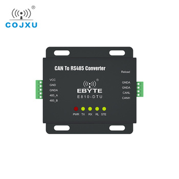 RS485 Interface CAN Bus Two Way Transparent Transmission Wireless Modem E810-DTU(CAN-RS485) full duplex serial port server ethernet rj45 to rs485 tcp udp 100m cojxu e810 dtu rs485 v2 0 wireless transceiver modem module