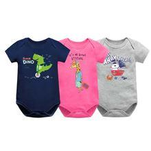 Детские Боди для мальчиков; Одежда малышей; Летний комбинезон