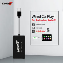 Carlinkit USB Apple Carplay Dongle/Android Auto para Android coche con iOS 13 sistema Carplay y micrófono espejo-enlace(China)