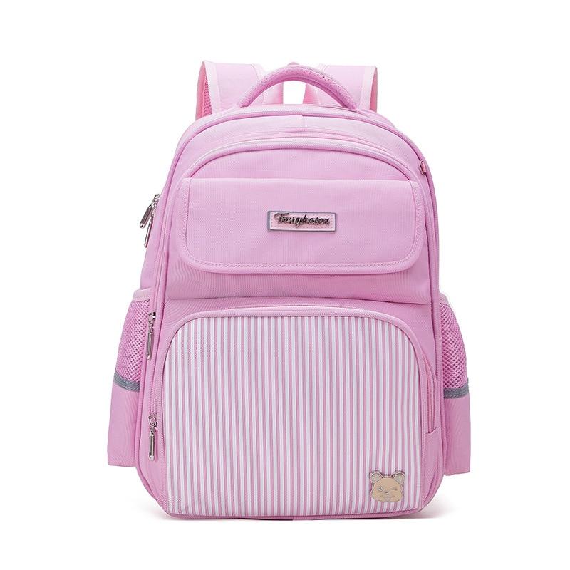 Children School Backpacks Kids Orthopedic Primary School Bags Boys Girls Waterproof Schoolbag Kids Satchel Mochila Infantil Zip