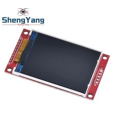 Electrónica Inteligente Módulo de puerto serie LCD TFT SPI Pantalla de 2,2 pulgadas, 240x320 puntos, ILI9341, 5V/3,3 V, 2,2 , 240x320, para Arduino Diy