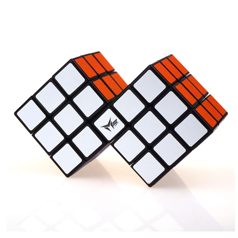 Neo 3x3x3 X2 Conjoint Magic Cube Professional Brain Puzzle Speed Cubo Magico Educational Game Children's Strange-shape Cube Toy