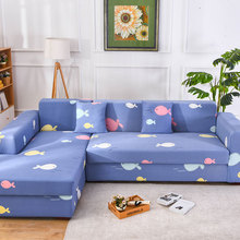 Slipcovers Sofa cover all-inclusive slip-resistant sectional elastic full Couch Cover sofa Towel Single/Two/Three/Four-seater4