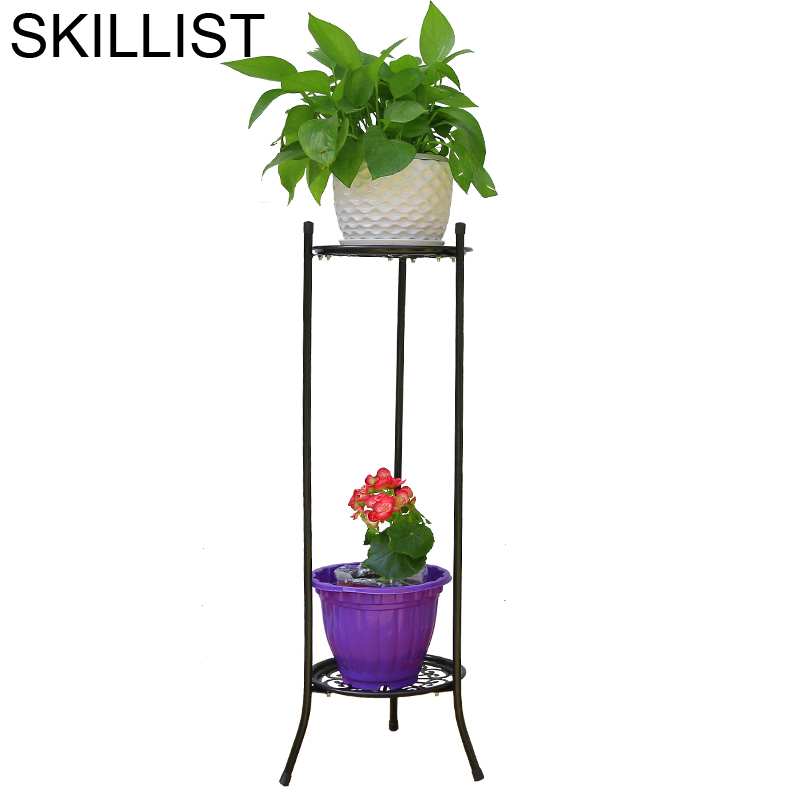 Decor Outdoor Decoration Decoracion Exterior Rack Shelves Varanda Dekorasyon Decorer Flower Balcon Stand Balkon Plant Shelf