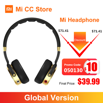 Xiaomi Headphone with Micphone 3.5mm plug Wired Stereo Bass portable Sport headset Music Game Earphone