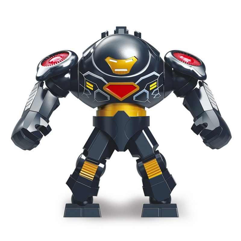 Grande Formato Marvel Figure Avengers Endgame Thanos Venom Carnage Energia Pietre Guanti Batman Iron man Mattoni Building Blocks Giocattoli