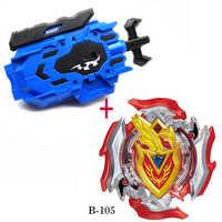 Takara tomy topo lançadores beyblade explosão b105 arena brinquedos venda bey lâmina e bayblade bable dreno fafnir metal blayblade