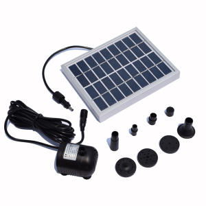 9V 220L  H Solar Garden Fountain Solar Fountains Solar Powered Waterfalls Bird Bath Fountain Water Pump Floating Fountain