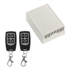 цены Wireless Remote Control DC 14V 4CH 315MHz Relay Switch 2 Transceiver + Receiver G8TB