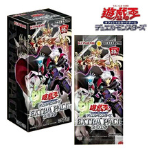 Yu Gi Oh Japanese Version EP19 EXTRA PACK 2019 Original Box Meteorite 1 pack of 5 cards 1 box of 15 packs