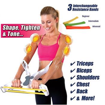 Dropshipping Wonder Arms taśma do ćwiczeń ramię górne ramię Biceps ramię klatka piersiowa powrót trening maszyna Brawn przyrząd treningowy Fitness tanie i dobre opinie ocioli k817823 Other Ramiona ABS rubber Square fitness equipment 26x22x10cm