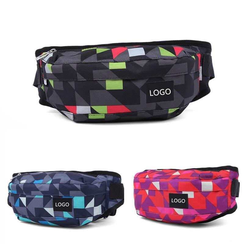 Wholesale Outdoor Sports Waist Pack Multi-functional Bag Women's Men Shoulder Chest Bag Canvas Gym Bag Mobile Phone Bag