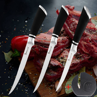 Stainless Steel 6 7 8 inch Boning Knife Sharp Kitchen Knife  For Bone Meat Fish Sushi Knife Fruit Vegetables Cooking Tool
