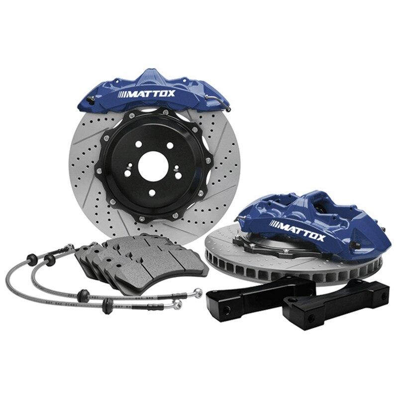 Rear Ceramic Brake Pad Set /& Rotor Kit for 2007-2013 Toyota Tundra