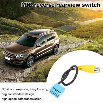 Car MIB RVC Rear View Camera Cable Adapter Replacement for Volkswagen Golf VI Jetta 5 6 MK5 MK6 Passat B6 image