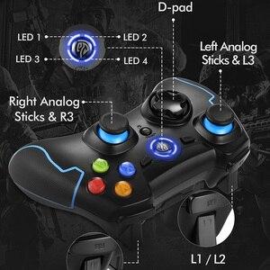 Image 3 - EasySMX ESM 9013 Tay Cầm Chơi Game Không Dây Cho Máy Tính Điện Thoại Android TV Box Bộ Điều Khiển Joystick Rung Vibration Joypad Tay Cầm Chơi Game Cho PS3 PC Game Thủ