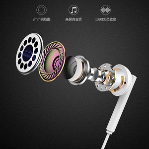 Image 5 - Original Huawei p smart z Earphone AM115 Half In ear Headset With Microphone / Volume Control / Noise Canceling For P10 P20 lite