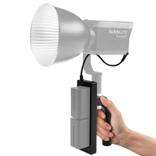 Handheld Battery Grip handle For Nanguang Forze 60w Photography lights
