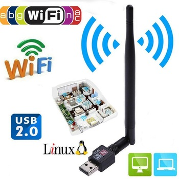 150Mbps USB 2.0 Wifi Router Wireless Adapter Wi Fi Internet Network LAN Card with 5dBI Antenna for Laptop Notebook Computer PC