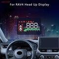 Автомобильный проектор на лобовое стекло TopUnion Hud для Toyota Rav4 2020, полнофункциональный экран для безопасного вождения, проектор на лобовое сте...