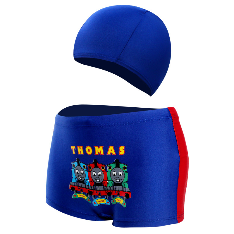 2018 New Style Europe And America Hot Selling Plus-sized Children Male Baby Hat Swimming Trunks Hot Springs Swimming Trunks
