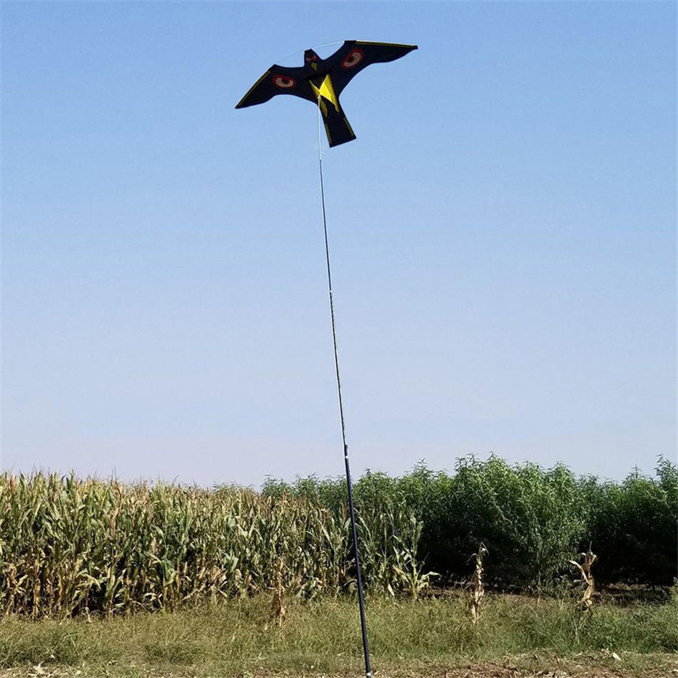 VOGVIGO-cerf-volant d'oiseau, épouvantable, facile à voler, pour jardin, épouvantail, cour, brise de maison