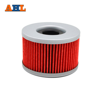 AHL 111 3pcs Motorcycle Oil Filter for HONDA CMX450C GL650 500 CX 650 450 500 400 CM250 450 400 CB500 450 400 250 TRX500 400 image