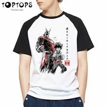 Men's Boku No Hero Academia Anime T Shirt My Hero Academia T-Shirt Boy Casual Tshirt for Man Tops Male Streetwear Tees Shirts