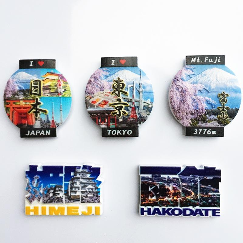Japan Travel Fridge Magnet Souvenir Himeji Mount Fuji Hakodate Tokyo Creative Decor Fridge Magnets For Crafts Gift Ideas Fridge Magnets Aliexpress