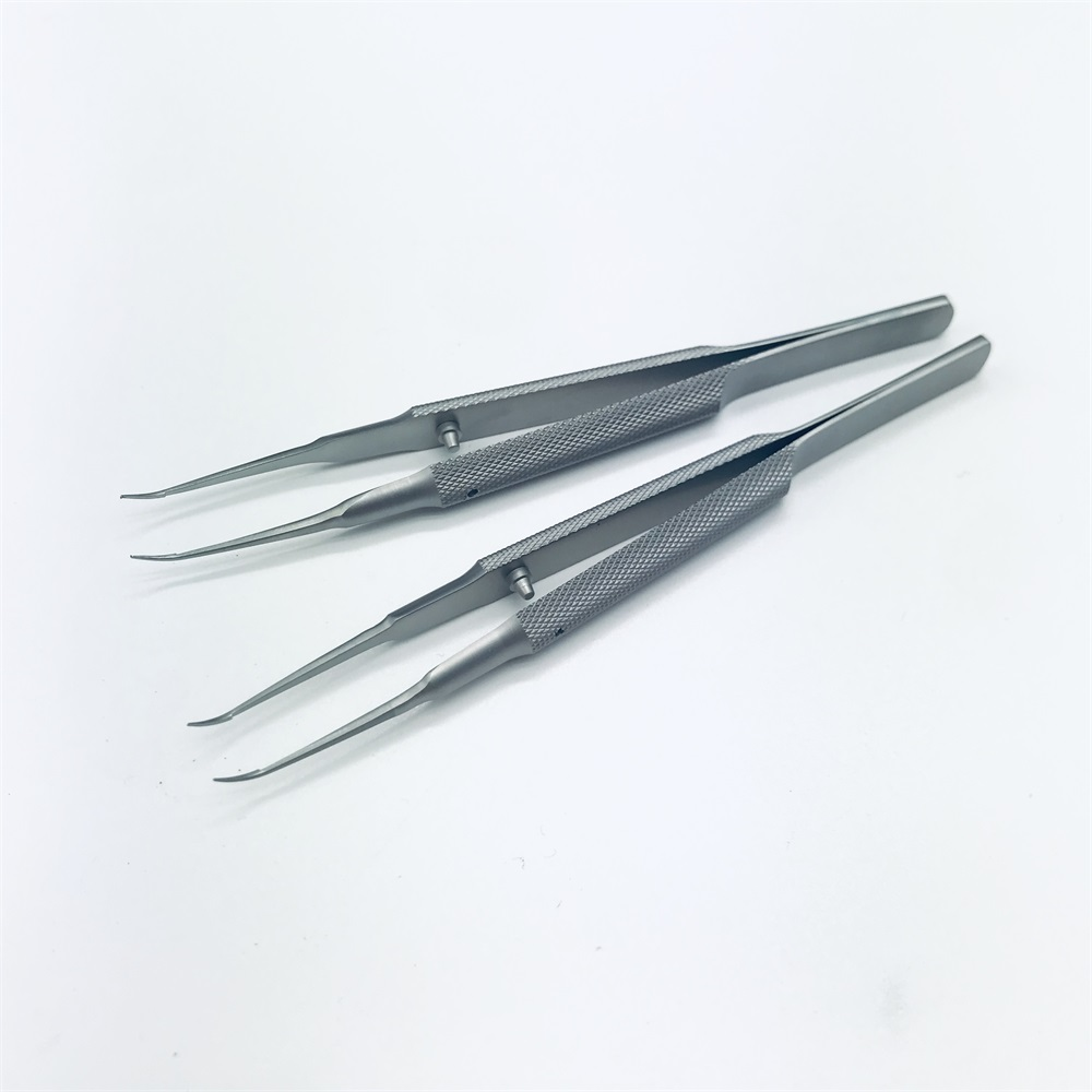 11cm  Stainless Steel Ophthalmic Forceps Fine Tissue Forceps Ophthalmic Tweezers Ophthalmic Microsurgical Instrument