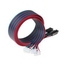 Motor-Cables Terminal-Wire Stepper-Motor NEMA 3d-Printer XH2.54 4pcs for 100cm 4pin 17