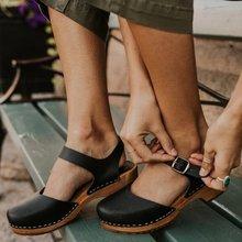 Sandalias de verano para mujer, tacones altos de talla grande, zapatos de tacón alto, sandalias de piel sintética estilo gladiador vintage para mujer, zapato femenino D199