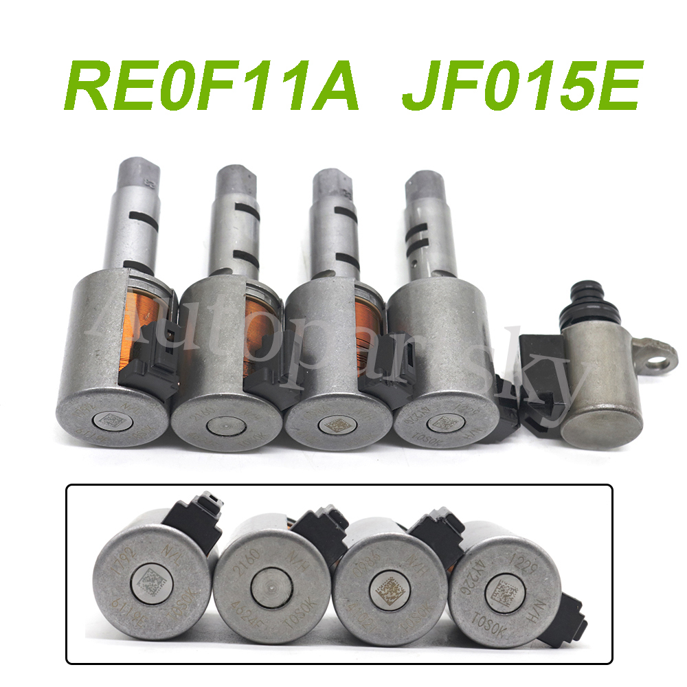 High Quality Remanufactured CVT Transmission Solenoids Valve RE0F11A JF015E For Nissan Note Sentra Tiida Versa for Chevrolet(China)