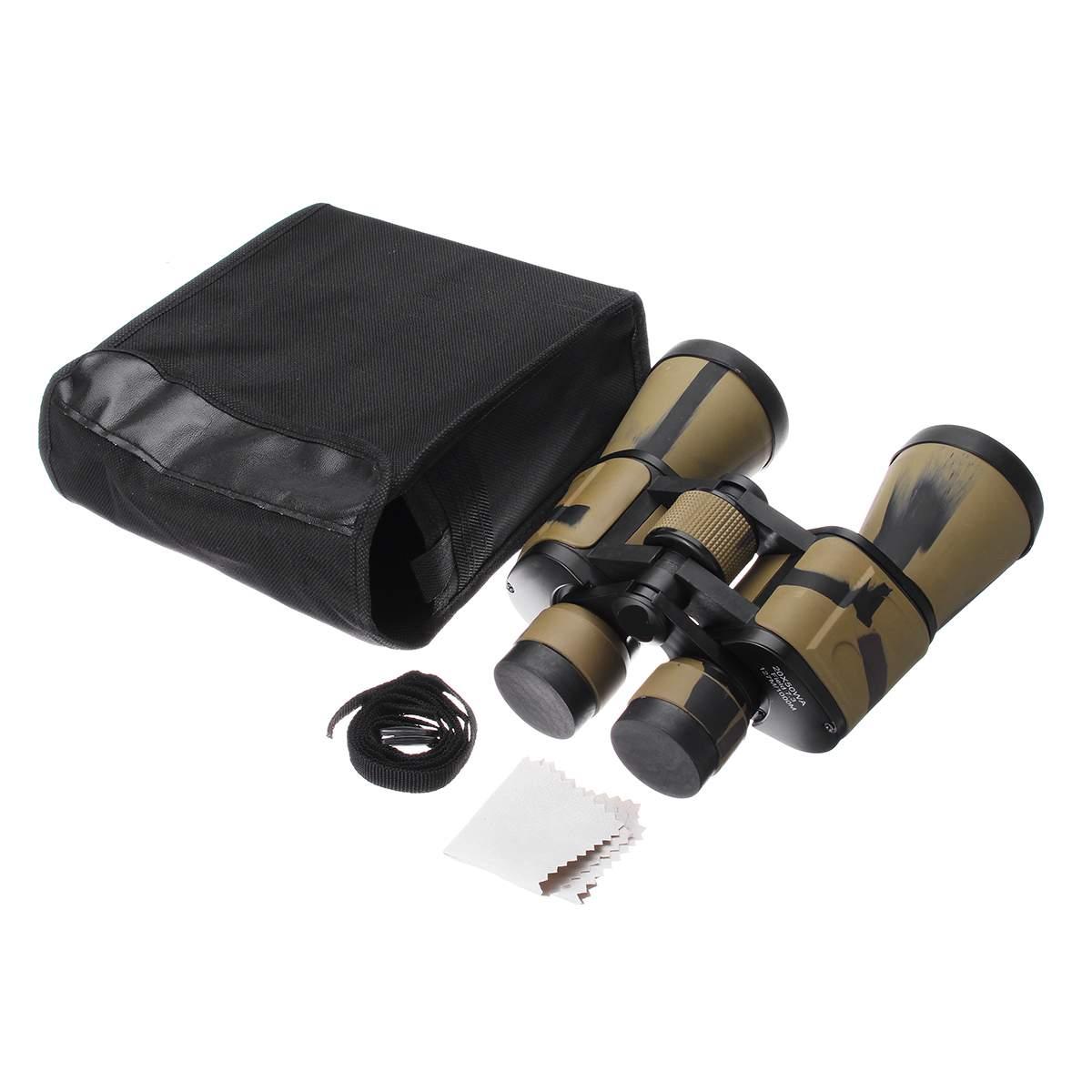 20x50 High Clarity Binoculars Powerful Military binocular For Outdoor Hunting Optical glass Hd Telescope low light Night Vision 6