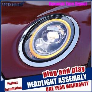 Image 1 - Scheinwerfer Für Mini F56 2014 2020 LED/Xenon Abblendlicht Fernlicht LED tagfahrlicht sequentielle drehen signal 1 paar