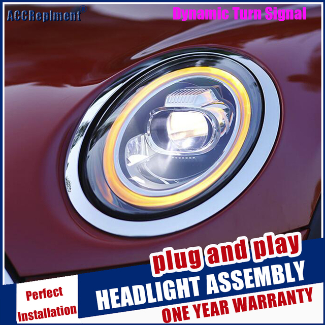 Scheinwerfer Für Mini F56 2014 2020 LED/Xenon Abblendlicht Fernlicht LED tagfahrlicht sequentielle drehen signal 1 paar